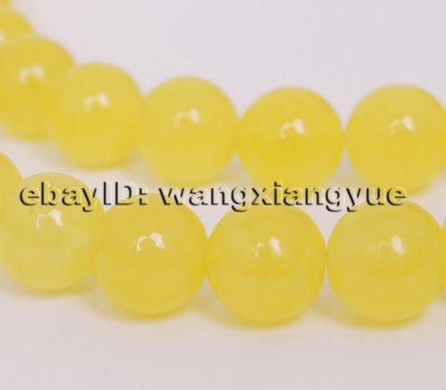 Gozebra(TM) 8mm Natural Brazil Topaz Gemstone Round Beads Loose Beads - Gemstone Topaz Round
