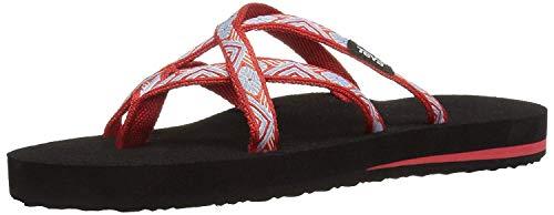 (Teva Women's Olowahu Flip-Flop (11 M US, Isla Red))