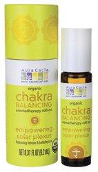 Aura Cacia Chakra Balancing Aromatherapy Empowering Solar Plexus 0.31 fl oz Liquid