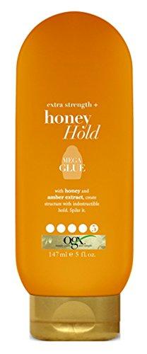 OGX Extra Strength + Honey Hold Mega Glue, 5 Ounce Bottle, S