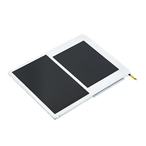 Replacement Screen for 2DS, YTTL LCD Screen Display Top and Bottom Replacement Part for Nintendo (Nintendo Ds Replacement Parts)