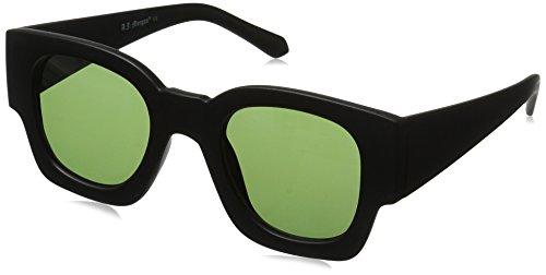 A.J. Morgan Magnum Square Sunglasses, Matte Black, 45 - By Aj Morgan Sunglasses