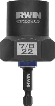 (Bolt-Grip 1859115 Irwin Tools Impact Performance Series Bolt Grip Bolt Extractor with 1/2-Inch Square Drive with 1/4-Inch Hex Adapter)