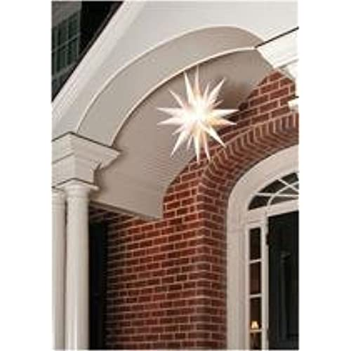Outdoor Moravian Star Light Moravian star light amazon advent stars moravian star indooroutdoor christmas decoration light 21 inches workwithnaturefo