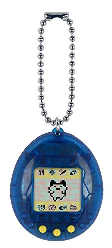 (Tamagotchi Electronic Game, Translucent Blue)