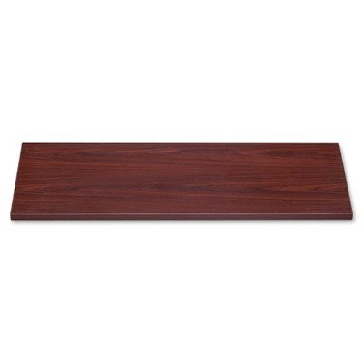 Lorell LLR69027 Lateral Files Laminate Tops, Mahogany by Lorell