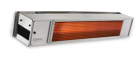 Sunpak Stainless Steel 2Stage 25,000/34,000 Btu Natural Gas Direct Spark Heater