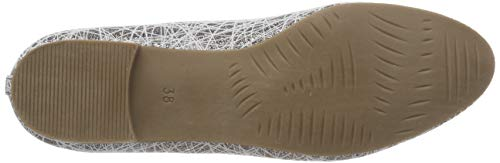 Marco Met Tozzi 22 Mujer Para 22132 Com 2 taupe Bailarinas Beige 2 368 OxvnOw6