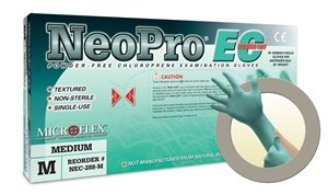Microflex NeoPro EC Powder Free Extended Neoprene Exam Gloves (500 Case) by NeoPro EC