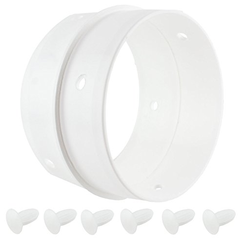 Spares2go Universal Tumble Dryer Vent Dual Hose Connector/ Adapter -