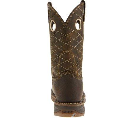 Durango Boot Mens Db4354 11 Workin Rebell, Nikotin / Choklad, Oss 9,5 2e