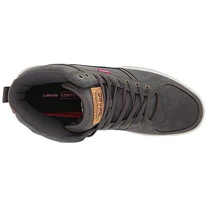 Levi's Mens Stanton Waxed UL NB Fashion Hightop Sneaker Shoe 5