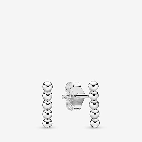 PANDORA Row Of Beads Stud...