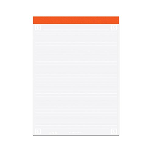Roaring Spring Whitelines Legal Pad, 8.5 x 11.75, Lined, 40 sheets