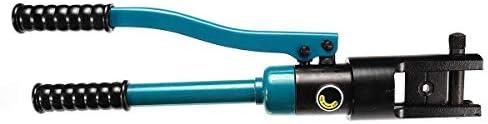 YKJ-YKJ プライヤーハンドツール、10-300セットハンドヘルドケーブルワイヤ六角クランプ油圧クリンパープライヤーツール ペンチ