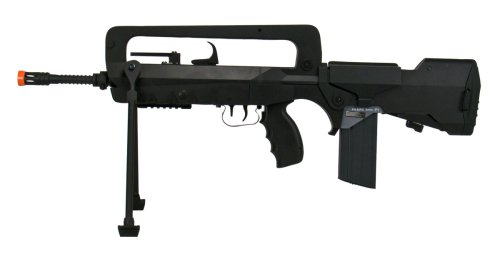 - Soft Air Famas Foreign Legion AEG Electric Powered Airsoft Rifle