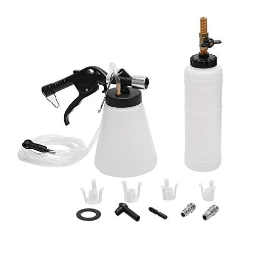 (Youghalwell Vacuum Brake Fluid Bleeder,0.75 Liter - Master Cylinder 90-120 PSI Air Pressure Fluid Bleed Tool)
