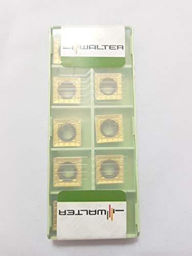 Walter 120606-D51 Hartmetall-Einsätze SPMT Grade WXM35, 10 Stück