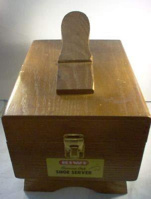 Vintage Kiwi Genuine Oak Shoe Server (Vintage Oak Valet)