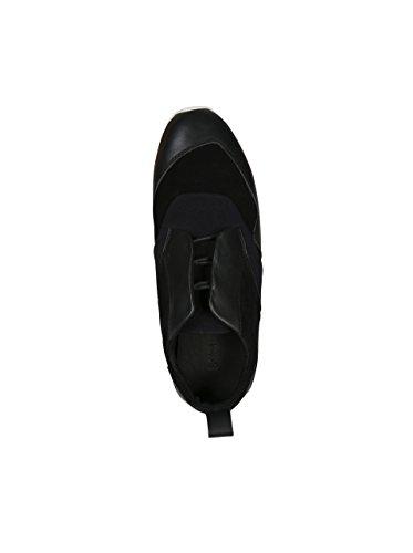 Chaussures Hommes Gramme De Cuir En Néoprène Noir En Cuir Noir Néoprène