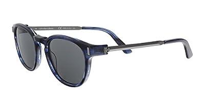 Calvin Klein CK8544S 33040 Navy Horn Round Sunglasses