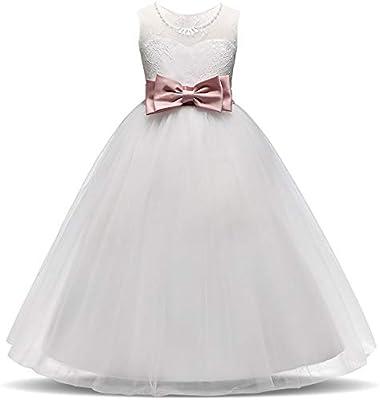 39dd503d7 Vestidos Vestidos de noche de cumpleaños Vestido de Dama de Honor Vestido  de Fiesta para Fiesta de Cumpleaños Vestido de Niños Vestido de Encaje Edad  4-12 ...