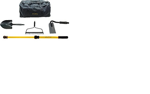 Inteletool Telescopic Gardening Tool Kit with Duffel Bag by Inteletool