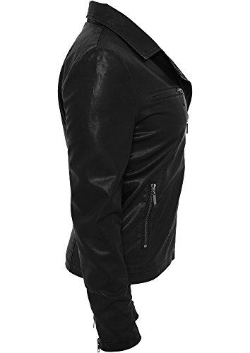 Classics Black Jacket Biker 00007 tb756 Urban Ladies dqAT8Y