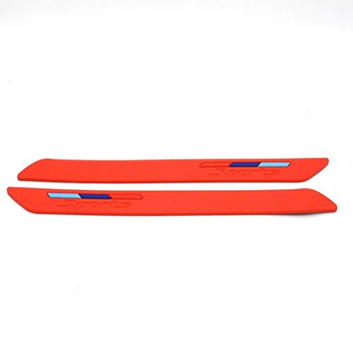 Car bumper bumper strip, Anti-scratch rubber strip-D: