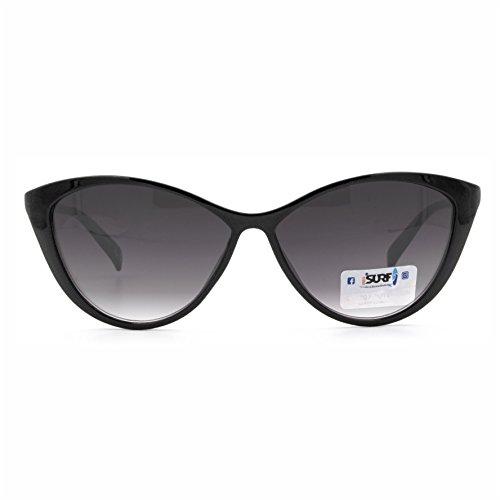 Occhiali Da Sole Marca Isurf Eyewear Modello Canary Sun Vestibilita' Piccola Modello A Gatta (nero Lente Scura) AQqqMBPTHN