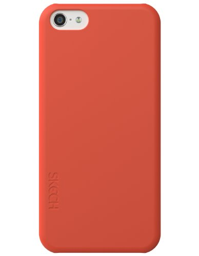 Skech SKPHN-SL-CORAL Slim Hülle für Apple iPhone 5C Koralle