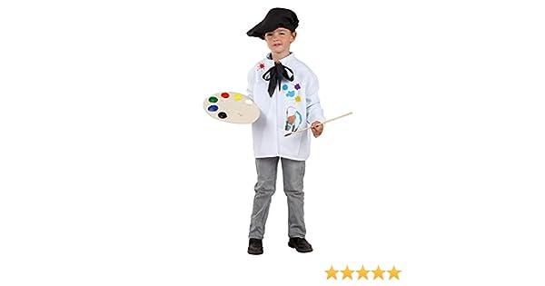 DISBACANAL Disfraz de Pintor Infantil - -, 10 años: Amazon.es ...
