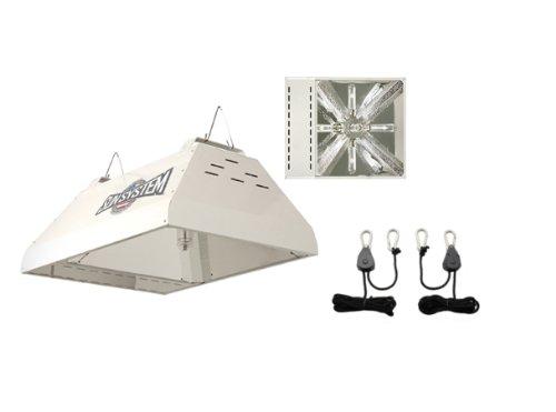 - Sun System LEC 315 120v Light Emitting Ceramic Metal Halide Fixture w/ Free Ratchet Light Hangers