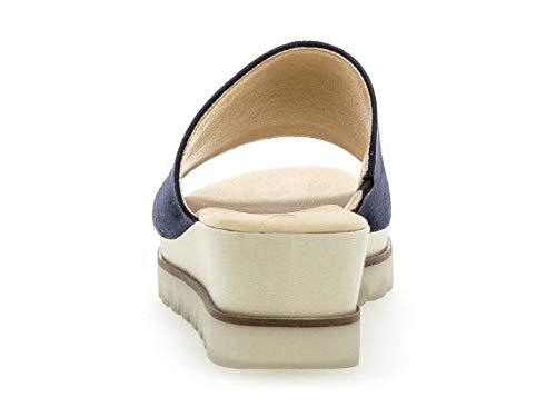 slip 643 mulas mulas diapositivas best River 23 chinelas On zapatillas pantuflas Gabor Mujer Fitting F485Ytx