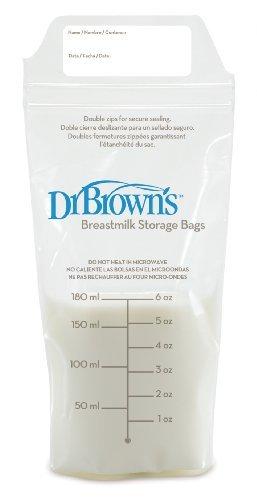 Dr. Brown s leche materna bolsas de almacenamiento, 25 Count infantil, bebé