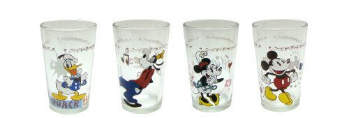 (Disney Mickey and Friends Juice Glass, 8-Ounce, Set of)