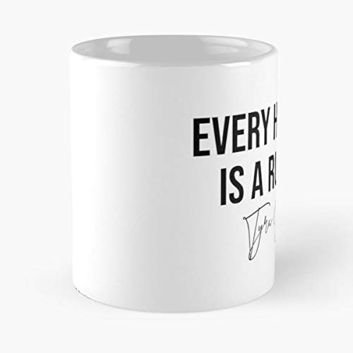 Fashion Quote Model Tyra Banks - 11 Oz Coffee Mugs Ceramic The Best Gift For Holidays, Item Use Daily ()
