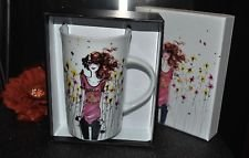Izac Hello Sunshine 5 Porcelain Coffee Mug.
