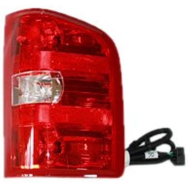 Tyc 11 6221 00 Chevrolet Silverado Passenger Side Replacement Tail Light Assembly Automotive Amazon Com