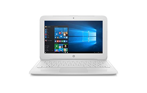 2017 HP Stream 11.6 inch Laptop, Intel Celeron Core up to 2.48GHz, 4GB RAM, 32GB SSD, 802.11ac WiFi, Bluetooth, Webcam, USB 3.0, Windows 10 Home, Snow White (Renewed)