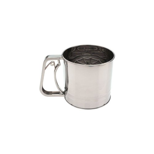 Focus 5 Cup 5-1/4 x 5 S/S Flour Sifter by Focus Foodservice