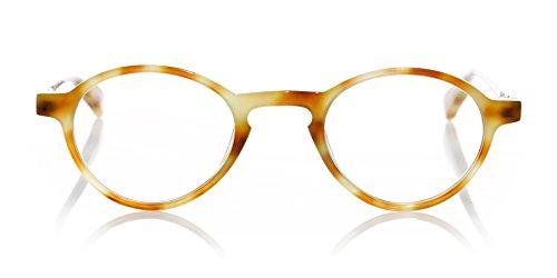 eyebobs - Board Stiff - Premium Quality Reading Glasses, Caramel Tortoise, 1.25 Magnification
