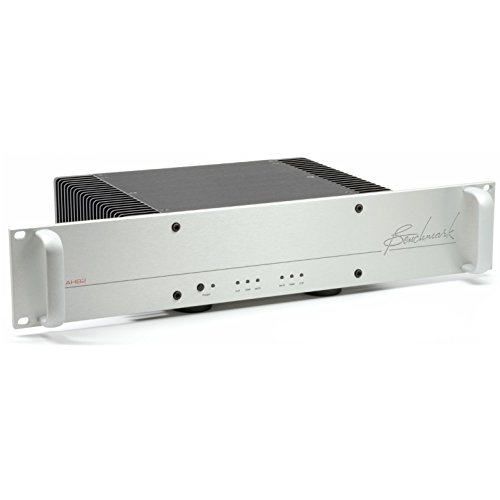 Benchmark AHB2 High Resolution Stereo Power Amplifier (Silver Rack Mount)