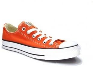 converse orange femme