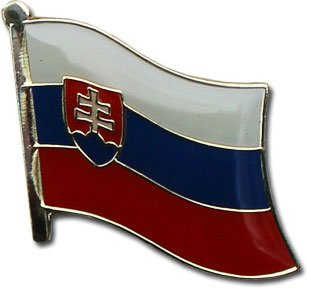 Exceptional Slovakia   National Lapel Pin