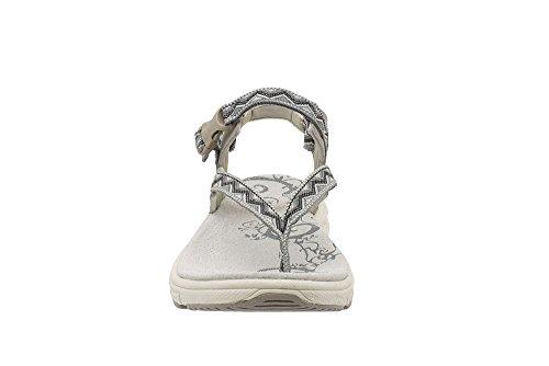 Grau Kefas 3552 Iside sandalen Damen xIr7IAqw