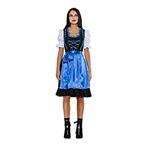 Gustav & Greta Dirndl Set Traditional Dress Women 3-Piece Blouse White Oktoberfest