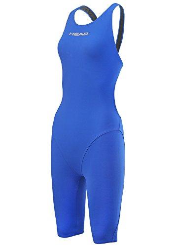 ヘッドLiquidFire電源オープンバック膝Suit – ロイヤルブルー イギリスサイズ34  B072J8L2HB