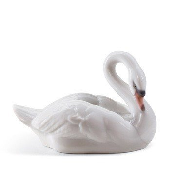 ELEGANT SWAN Lladro Porcelain by Lladro Porcelain