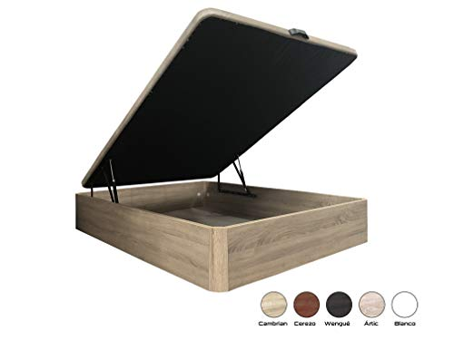HIPERSTOCKS CANAPE ABATIBLE 135x190 Cambrian Canto Redondo: Amazon.es: Hogar